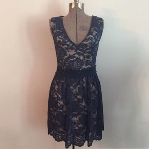 SOIEBLU BLUE LACE DRESS